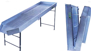Stainless Steel Manual Sorter and De-Leafer