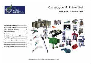 Grove Supply Co Catalogue